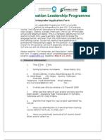 Interpreter Application Form
