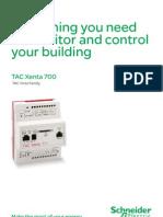 Tac Xenta 700 Brochure