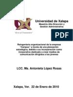 Proyecto de Investigacion Tesis Reingenieria Organizacional Campus _2