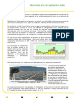 Sistema de Refrigeracion Solar