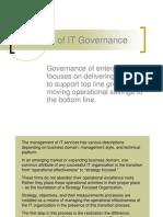 Principles of It Governance