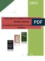 Antología Unidad IV Proyectos Educativos