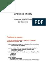 LingTheory 3 Saussure
