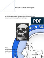 Inter Maxillary Fixation Techniques Manual