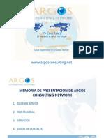 Presentación de ARGOS CONSULTING NETWORK