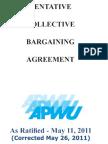 APWU Contract 2010-2015 - Corrected 5/26/2011