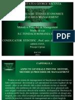 Metode Si Procedee de Management.