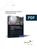 Sappress Implementing Sap Customer Competence Cemter