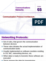 Ccnet Lec 03 Protocol Architecture