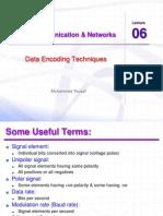 Ccnet Lec 06 Data Encoding