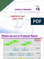 Ccnet Lec 15 DNS HTTP