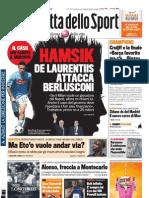 Gazzetta dello Sport - 27 Maggio 2011