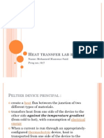 Heat Transfer Lab Report