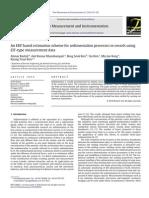 An EKF Based Estimation Scheme for Sedimentation Processes