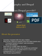 Typography and Drupal What Does Drupal Provide