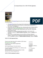 Indian Maritime University Common Entrance Test