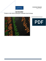 Cambodia Stock Exchange Report - April 27 2011