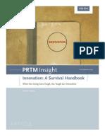 PRTM Innovation Survival Handbook