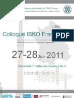 Programme Isko 2011