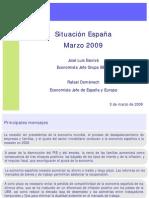 Presentacion Situacion Espana Marzo 2009 Espanol