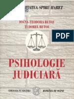 Tudorel Butoi - Psihologie Judiciara Carte