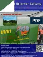 Erste Eslarner Zeitung, Ausgabe 06.2011