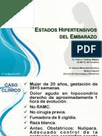 Estadios Hipertensivos Del Embarazo