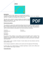 Urinary Catheter Insertion