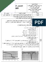 exb2010svt - Resume Science Islamique Bac