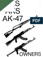 SKS AKS AK47 Owners Manual