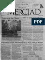 The Merciad, Oct. 25, 2000