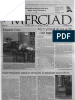The Merciad, Nov. 9, 2000