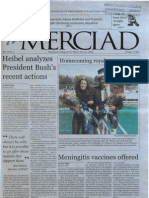 The Merciad, Oct. 3, 2001