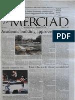 The Merciad, Oct. 17, 2001