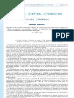 Circulaire du 26 mai 2011 relative à la création du portail unique des informations publiques de l'Etat « data.gouv.fr » par la mission « Etalab » et l'application des dispositions régissant le droit de réutilisation des informations publiques