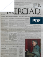 The Merciad, March 21, 2002