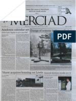 The Merciad, April 18, 2002