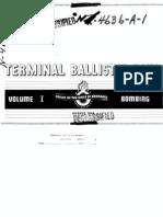 Terminal Ballistic Data I