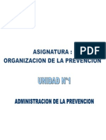 Clase Admin is Trac Ion de La Prevencion