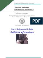 Capitulo 4 Teoria General de La Flexion Analisis de Deformaciones