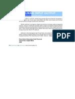 Aplikasi Analysis Input Output UGm