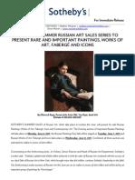 2011 June Russian Art Sales PR
