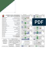 Auburn School Calendar 2011-12