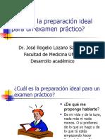 Preparación para presentar Examen Profesional