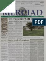 The Merciad, Jan. 30, 2003