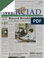 The Merciad, Feb. 13, 2003