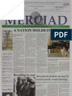 The Merciad, March 20, 2003