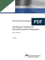 Entrepreneur ISV Introduction - BDM