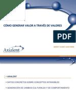 Axialent Presentation Spanish Dec 2009