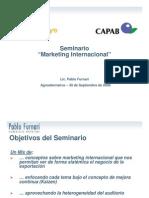 Comercio Exterior-Pablo Furnari